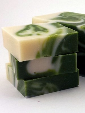 Cucumber Melon- Olive Oil Soap