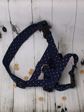 Cotton Navy-Dot-C7905