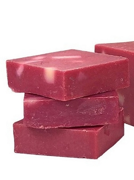Raspberry Rush -Olive Oil Soap